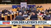 MEPs narrowly back Ursula von der Leyen as next European Commission president