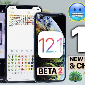 iOS 12.1 Beta 2- New Emojis, Sounds, ChargeGate Fix - More-