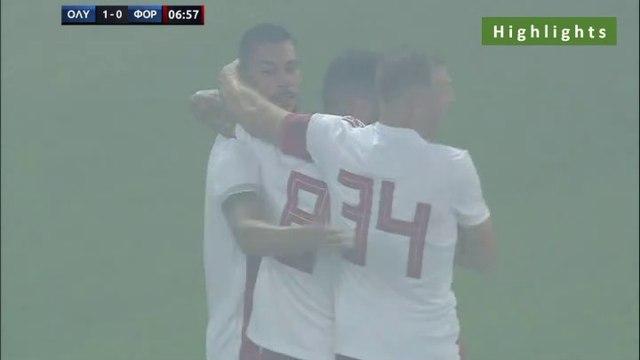 2-0 Guerrero Goal - Olympiakos Piraeus 2-0 Nottingham Forest - 16.07.2019 [HD]