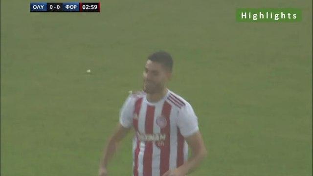 1-0 Georgios Masouras AMAZING Goal - Olympiakos Piraeus 1-0 Nottingham Forest - 16.07.2019 [HD]