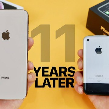 iPhone XS Max vs Original iPhone 2G- 11 Year Comparison