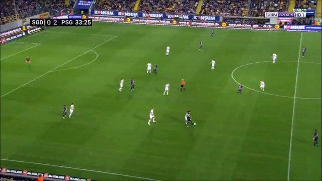 Mbappe goal against Dresden (0-3)