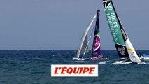 Victoire de Golfe du Morbihan devant La Boulangère - Voile - Tour