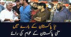 Watch views of mini Pakistan people about Naya Pakistan