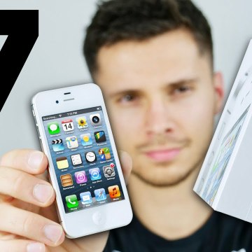 iPhone 4S Unboxing- 7 Years Old Today