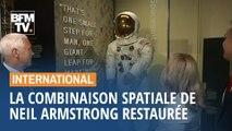 La combinaison spatiale de Neil Armstrong de nouveau exposée à Washington