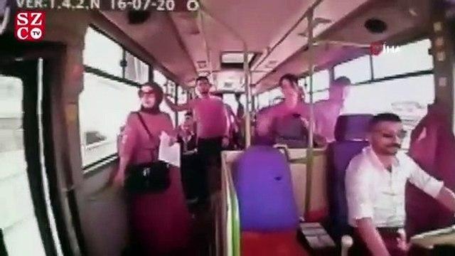 Genç kız halk otobüsünde ölüme böyle gitti
