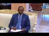 RTG/Le Chef de l'état reçoit le Ministre d'Etat en charge de la justice