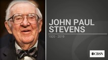 Retired Supreme Court Justice John Paul Stevens dies at 99