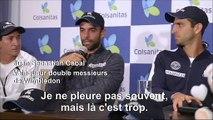 Tennis/Colombie: l'émotion des vainqueurs du double à Wimbledon