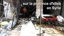 Syrie: neuf civils tués dans les raids du régime sur la région d'Idleb