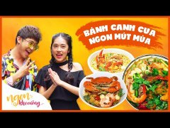 Ngon Kho Cuong BANH CANH CUA ngon queo luoi chan dong Sai Go
