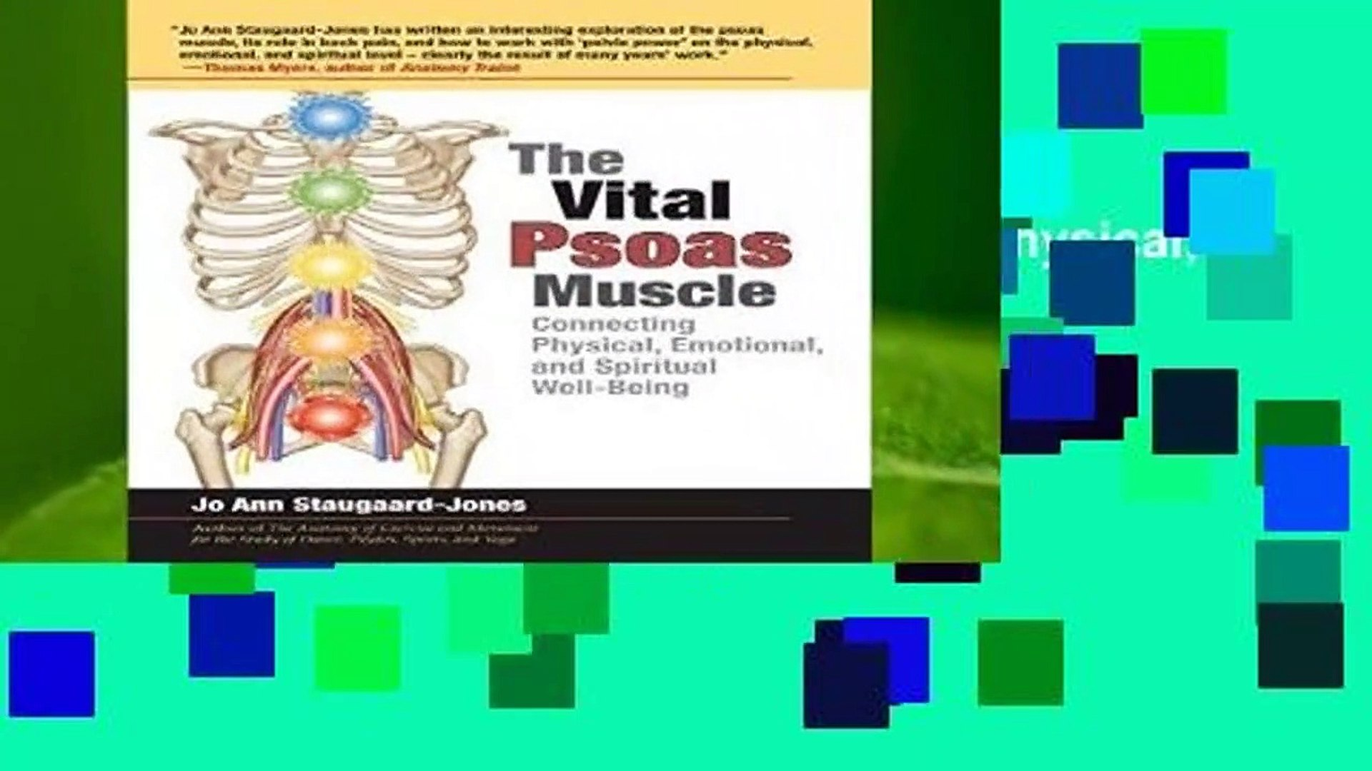 The Vital Psoas Muscle: Connecting Physical, Emotional, and Spiritual Well-Being  Review