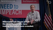 Tom Steyer Joins The 2020 Democratic Race