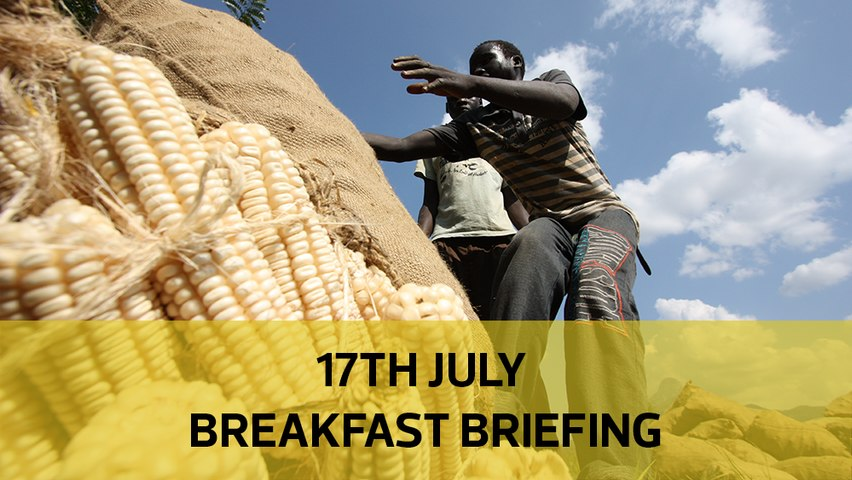 Kenya's unending maize circus | Betting bosses lose | The K-Sharks story: Your Breakfast Briefing