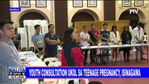 Youth consultation ukol sa teenage pregnancy, isinagawa