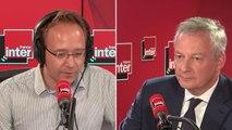 """Bruno Le Maire, ministre de l'Économie et des Finances sur le renoncement à la suppression de 50 000 postes de fonctionnaires d'état : """"Vous ne pouvez pas faire comme s'il n'y avait pas eu de mouvement social de grande ampleur"""""""