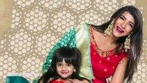 Ram Charan Poses with Manchu Lakshmi Daughter Vidya Nirvana(Telugu)