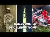 Les États-Unis célèbrent l'anniversaire du départ de la mission Apollo 11