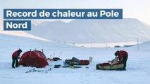 Un record absolu de chaleur enregistré au Pole Nord