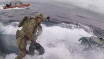 Les gardes-côtes interceptent un sous-marin de trafiquants de drogue