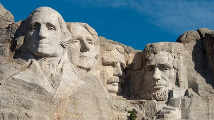 Family Trip to Mount Rushmore Takes Illegal Turn