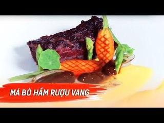 Đi Và Ăn Cùng Ben Vado | Má Bò Hầm Rượu Vang Ấm Lòng Ngày Mưa