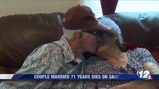Herbert et Marilyne Frances DeLaigle, mariés pendant plus de 71 ans, sont décédés le même jour à 94 et 88 ans