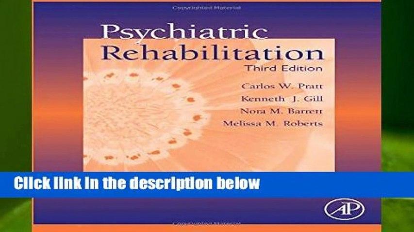 Psychiatric Rehabilitation  Review