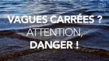 Si vous voyez des vagues carrées dans la mer, une seule chose à faire : fuyez !