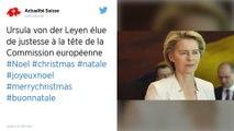 Les eurodéputés disent oui à Ursula von der Leyen, première femme présidente de la Commission européenne