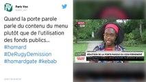 Pour Sibeth Ndiaye, les Français ne mangent pas du homard mais « bien souvent plutôt des kebabs »