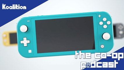 Is The Nintendo Switch Lite Worth Purchasing? - The Co-op Podcast 299