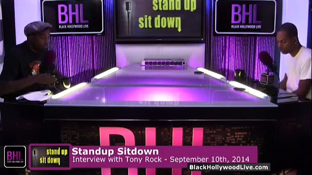 Stand-Up, Sit-Down w  Tony Rock for the Week of September 10th, 2014   Black Hollywood Live P2