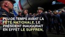 Suffren : la nouvelle polémique que doit affronter Macron