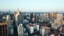 stock-footage-nairobi-kenya-east-africa-sunrise-cityscape-urban-landscape-drone-footage