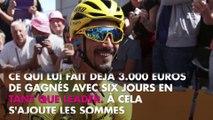 Julian Alaphilippe : Son maillot jaune lui a déjà rapporté une coquette somme