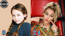 Miley Cyrus - From 1 To 24 Years Old
