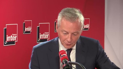 Bruno Le Maire - France Inter mercredi 17 juillet 2019