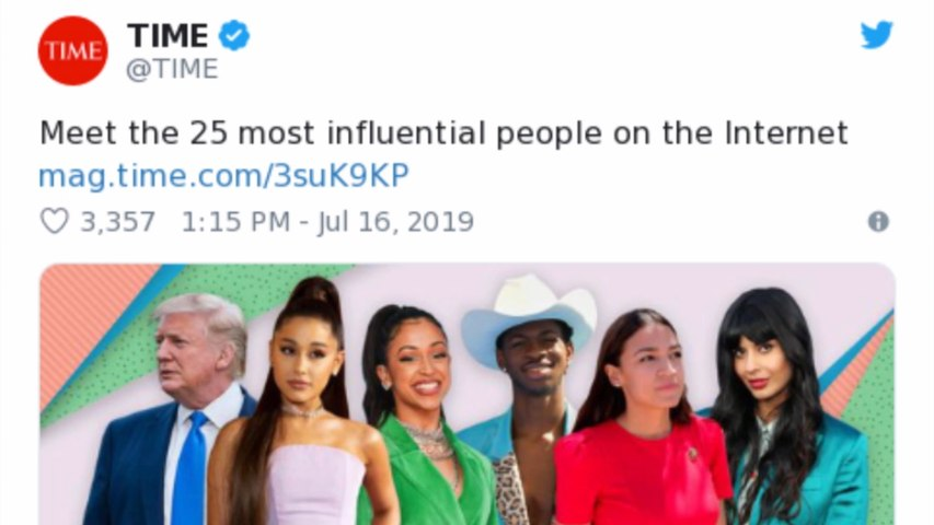 BTS and Ariana Grande top Time's Most Influential Internet Celebrities