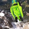 Man Breaks Two World Records While Base Jumping in Italy