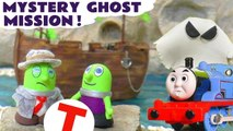 Mystery Halloween Ghost Spooky Challenge Learn English with Funny Funlings and Disney Pixar Cars 3 Lightning McQueen and Thomas and Friends Family Friendly Toy Story Full Episode English