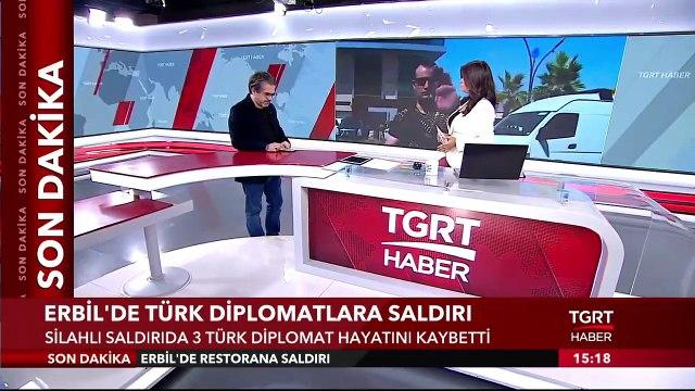 Erbil'de Türk Diplomatların da Olduğu Restorana Saldırı