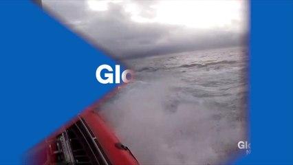 Tráfico de drogas: a incrível prisão de um submarino pela Guarda Costeira (vídeo)