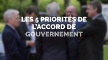 Les priorités de l'accord de gouvernement à Bruxelles: la mobilité et le logement