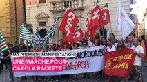 Ma première manifestation: la défense des réfugiés en Italie