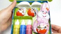 Easter Egg DIY Painting Set with Kinder Surprise Eggs