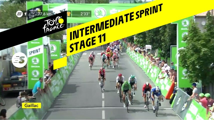 Sprint Intérmédiaire / Intermediate Sprint - Étape 11 / Stage 11 - Tour de France 2019