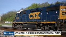 CSX Cuts Forecast as Freight Rail Outlook Dims