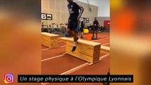 L'équipe de Strasbourg fait une tournante - Un stage physique à L'Olympique Lyonnais